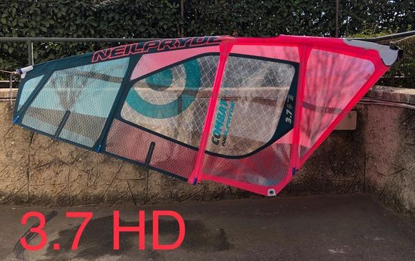 Neil Pryde - 3,7 COMBAT HD 2018