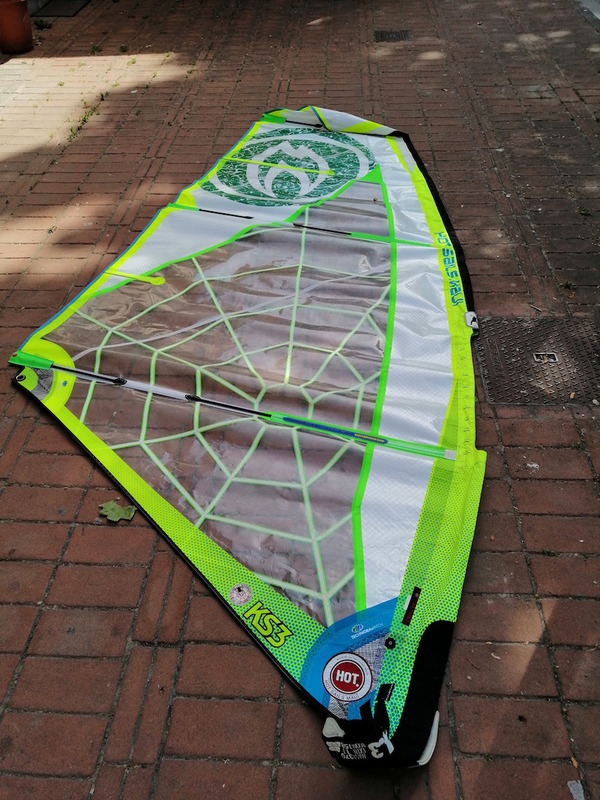Hot Sails Maui - KS3 Spider 4.3 mt