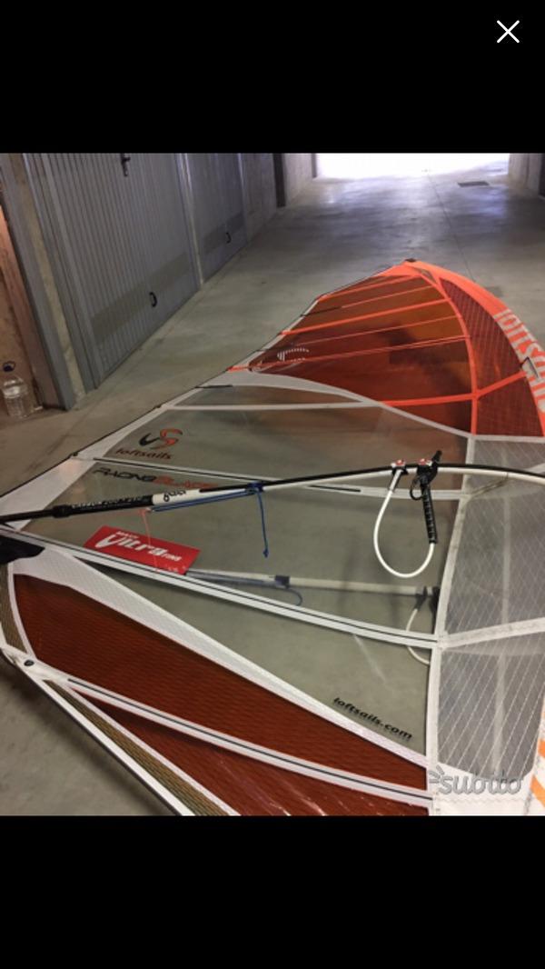 Loft Sails - Rig Completo con boma