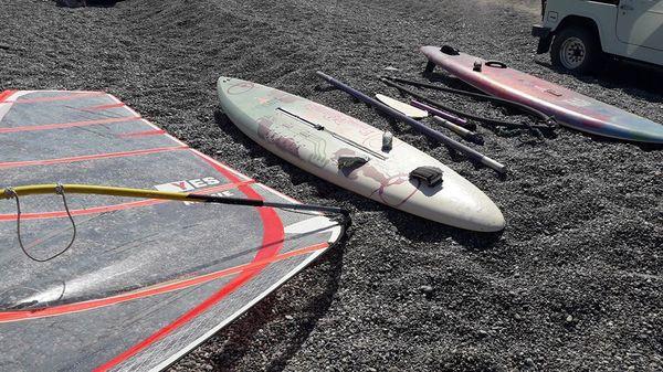altra -  Windsurf con 2 tavole - una Astro rock