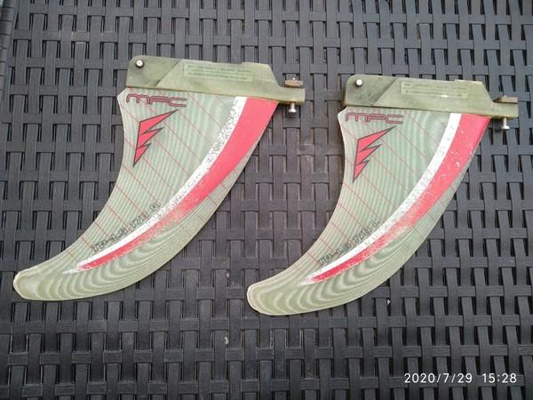 Mfc Maui Fins - Twin fin