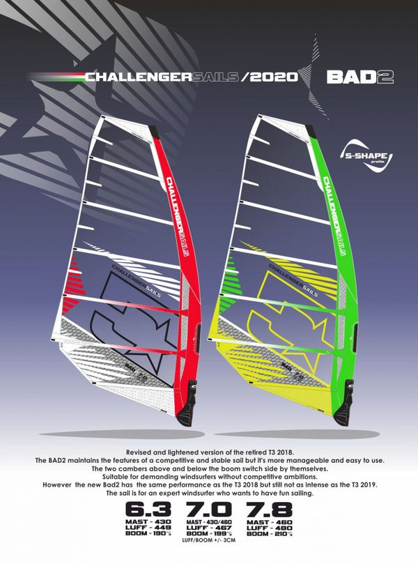 Challenger Sails - BAD 2