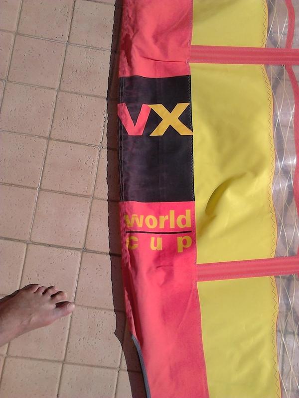 Neil Pryde - vela VX WORD CUP