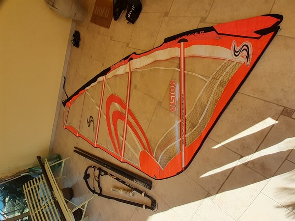 Simmer Style - Windsurf rig completo simmer vision 4.7