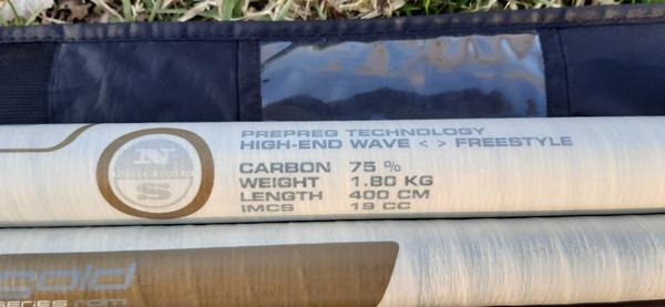 North Sails - 400 GOLD rdm 75% carbon