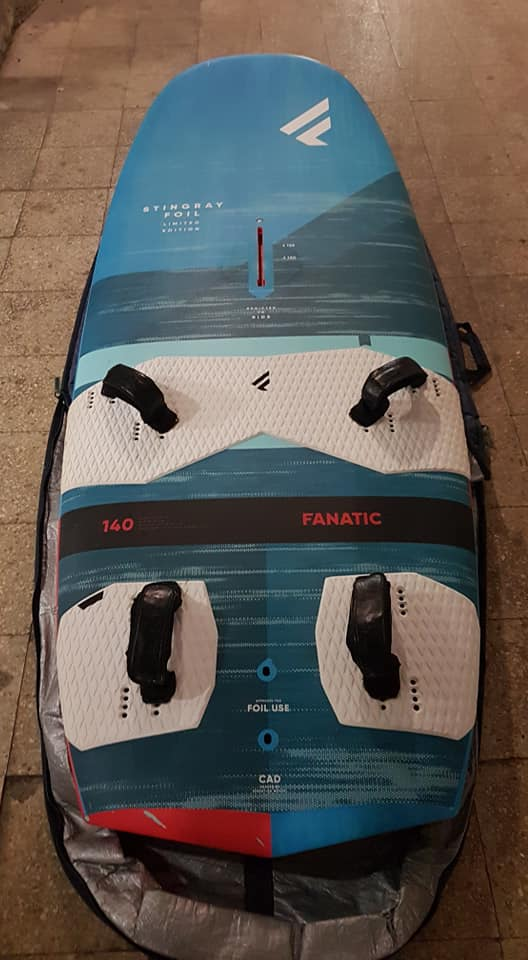 Fanatic - stingray foil 140 ltd