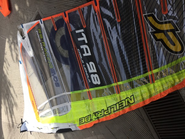 Neil Pryde - racing evo 6