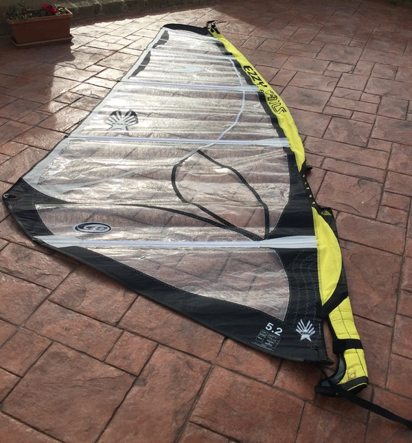 Ezzy Sails - Wave special ed.5.2
