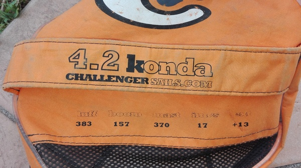 Challenger Sails - K-Onda 4.2