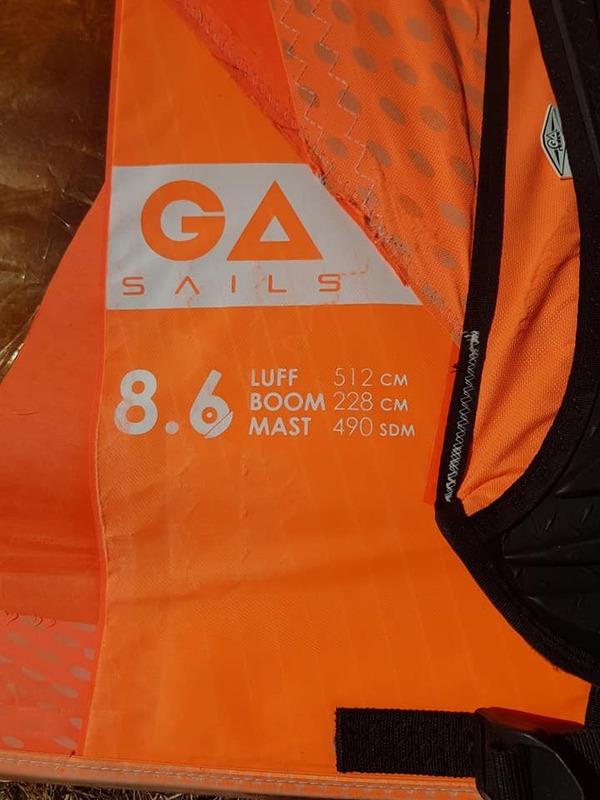 Gaastra - Vapor 8,6 mq + Albero 490 gaastra proto 80%