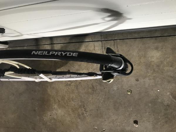 Neil Pryde - slalom