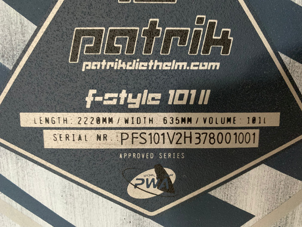 Patrik Diethelm - F-Style 101 V2 GBM