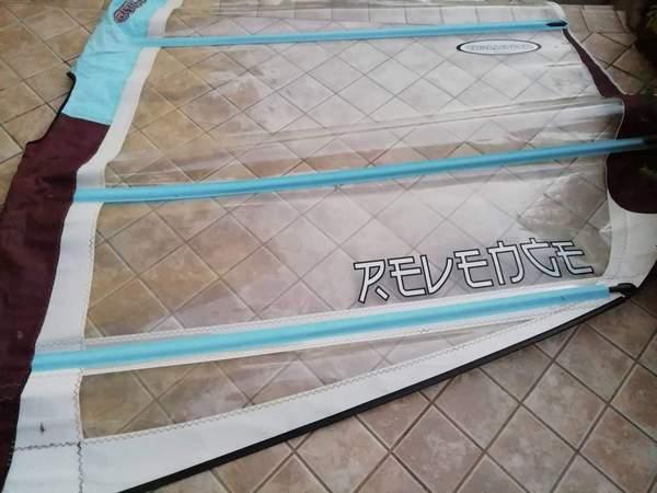Challenger Sails - Revenge7.8 + albero