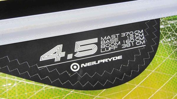 Neil Pryde - Combat 4.5 2012 Usata Ottime Condizioni €170