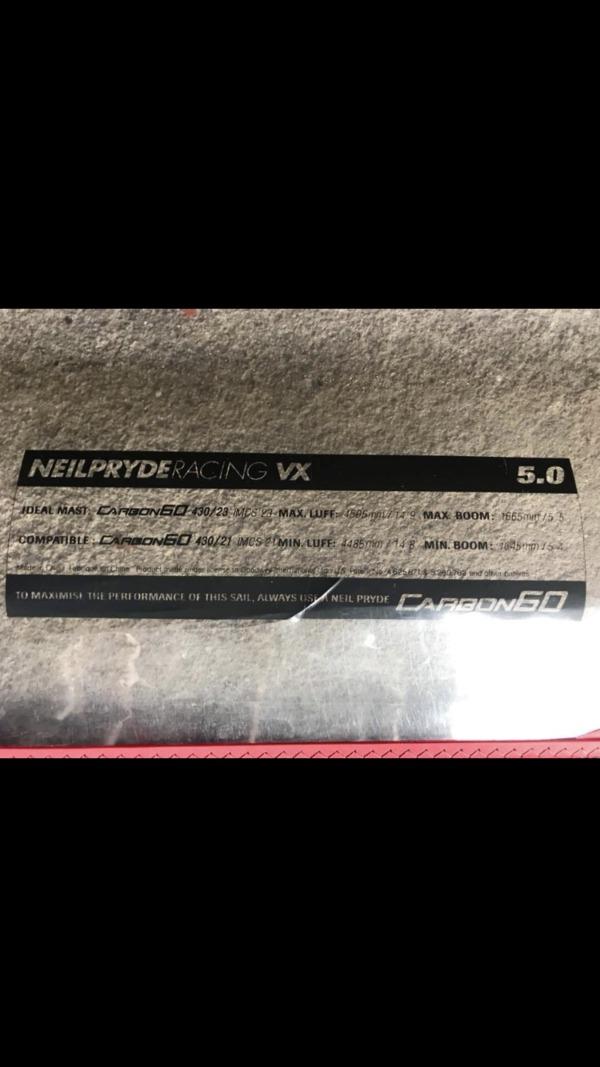 Neil Pryde - VX 5.0 Worl cup