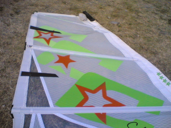Challenger Sails - K-onda 5.3 VELA POWER-WAVE ( PARI AL NUOVO \ VELA TEST )