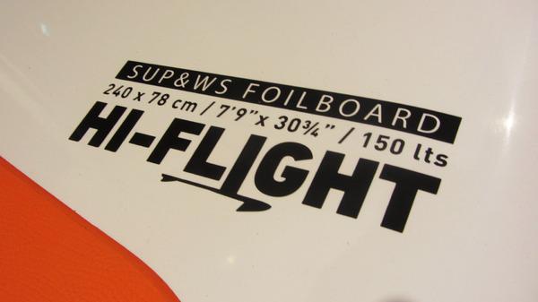 Rrd - Hi-Flight 150 lt Demo + RRD Foil flight alu 60 cm
