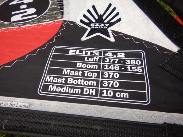Ezzy Sails - Elite