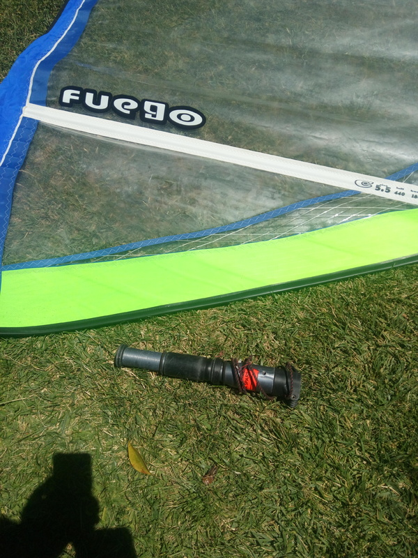 Challenger Sails - FUEGO 5.5