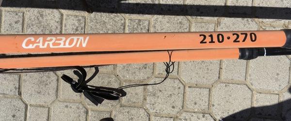 Neil Pryde - Neol Pryde slalom MK IV 9.5 m2 + albero Neil Pryde X 6 di 4.9 mt + boma AL 360 Carbon 2.10 - 2.70 + prolunga Neil Pryde MXT 48 cm + piede abbinato