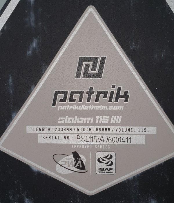 Patrik Diethelm - Slalom 115 IIII - 2017