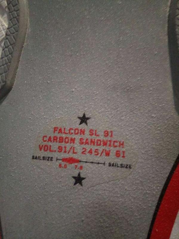 Fanatic - Falcon 91 litri