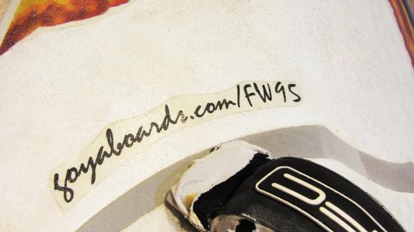 Goya - FREESTYLE WAVE 95 lt 2005 Usata