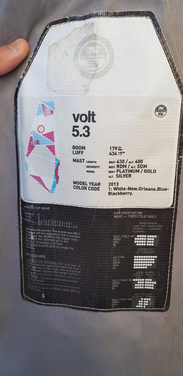 North Sails - VOLT 5.3