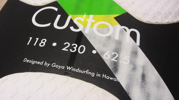 Goya - Custom Quad 118 lt 2019 Expo