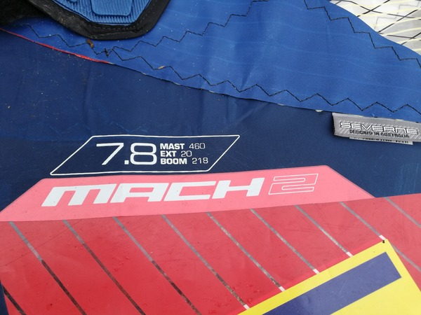 Severne Sails - Mach2 7.8
