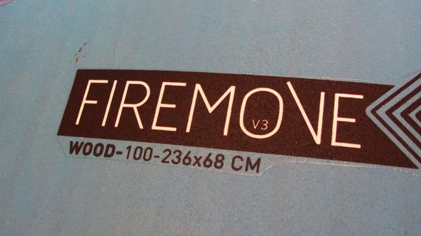 Rrd - Firemove Wood V3 100 lt Usata Ottime Condizioni *SPEDIZIONE GRATUITA IN ITALIA*