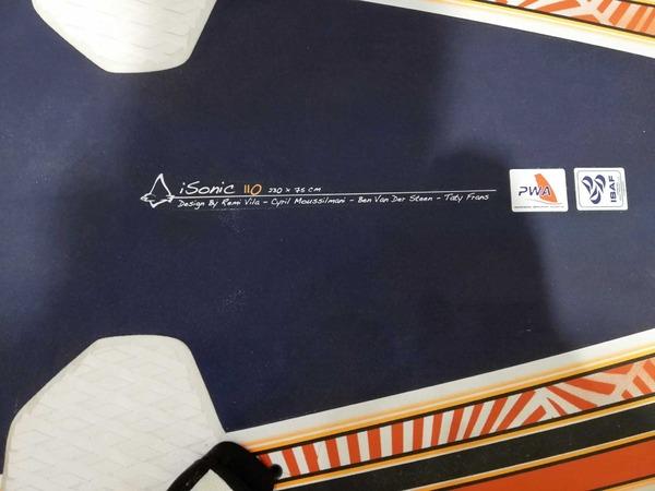 Starboard - ISONIC 110 lt 2014 Expo *SPEDIZIONE GRATUITA IN ITALIA*