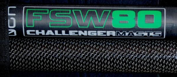Challenger Sails - Albero Challenger 2021 FSW 80 RDM 430
