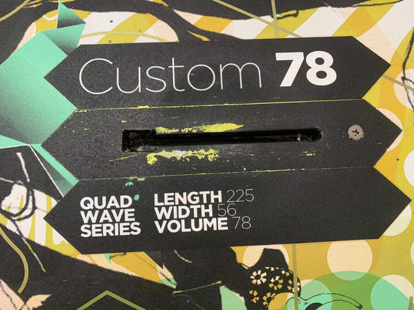 Goya - Custom Quad 78 lt Usato Ottime Condizioni