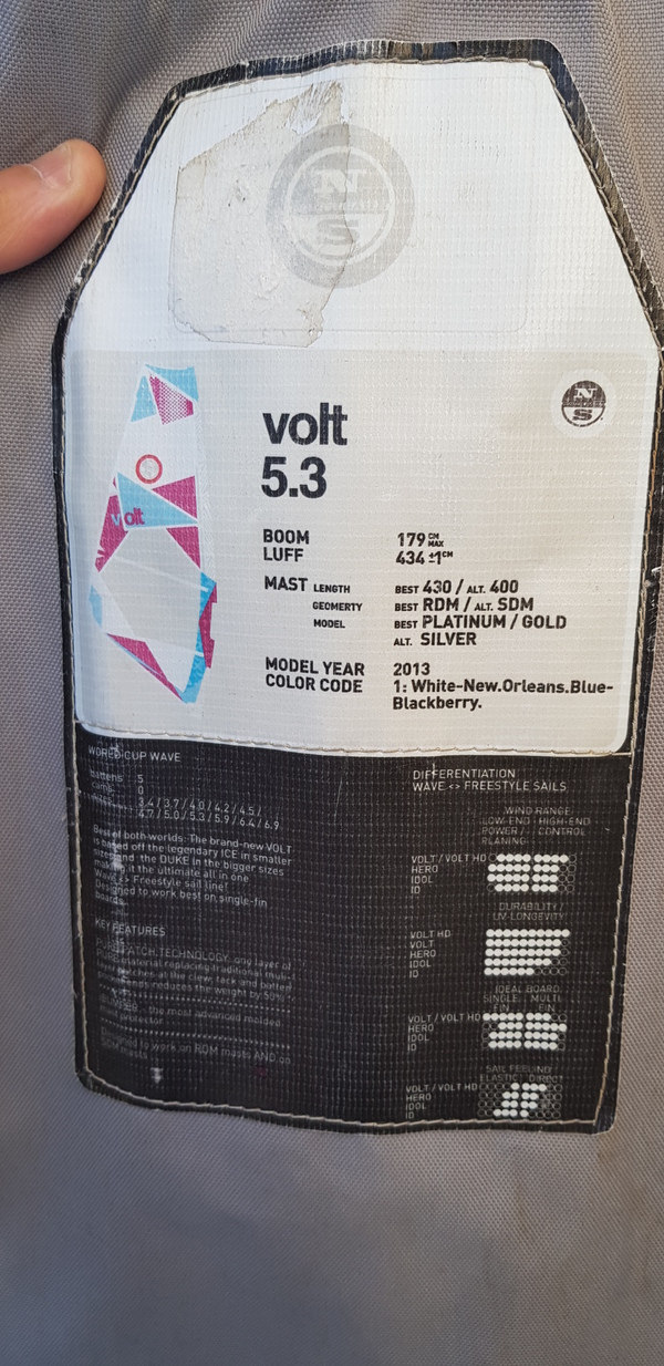 North Sails - VOLT 5.3