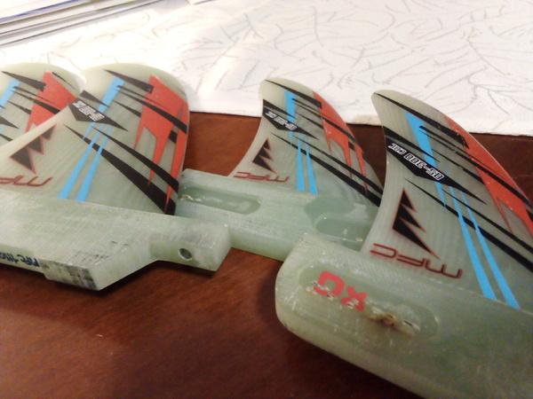 Mfc Maui Fins - Set 4 pinne G10 quad like new