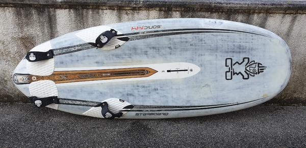 Starboard - Chs aero+, starboard  tutto completo
