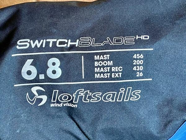 Loft Sails - Switchblade 6.8